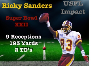 Ricky Sanders USFLONLINE